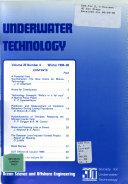 Underwater Technology Book PDF