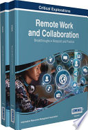 Remote Work And Collaboration Breakthroughs In Research And Practice