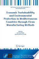 Economic Sustainability and Environmental Protection in Mediterranean Countries through Clean Manufacturing Methods