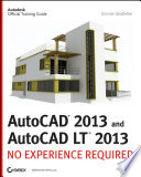 AutoCAD 2013 and AutoCAD LT 2013