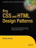 Pro CSS and HTML Design Patterns [Pdf/ePub] eBook