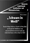 """""""Schwarz in Weiss"""""""