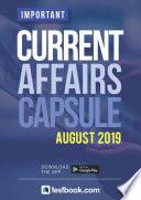 Current Affairs Capsule August 2019