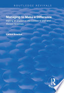 Managing to Make a Difference  Making an Impact on the Careers of Men and Women Scientists