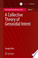 A Collective Theory of Genocidal Intent Book