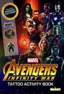 Avengers Infinity War Tattoo Activity Book