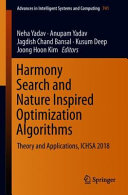 Harmony Search and Nature Inspired Optimization Algorithms Book