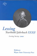 Lessing Yearbook 2000
