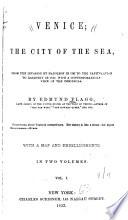 Venice  the City of the Sea Book
