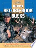 Hunting Record Book Bucks