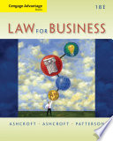 Cengage Advantage Books  Law for Business Book