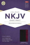 Giant Print Reference Bible-NKJV