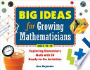 Big Ideas for Growing Mathematicians