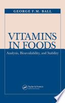 Vitamins In Foods Book