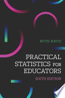 """Practical Statistics for Educators"" by Ruth Ravid"