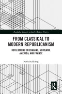 From Classical to Modern Republicanism