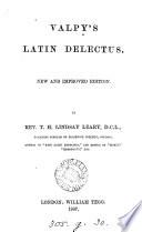 Valpy S Latin Delectus