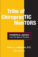 Tribe of Chiropractic Mentors Book