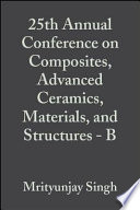 25th Annual Conference on Composites  Advanced Ceramics  Materials  and Structures   B
