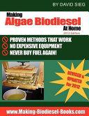 Making Algae Biodiesel at Home