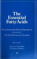 The Essential Fatty Acids