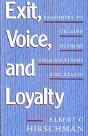Pdf Exit, Voice, and Loyalty