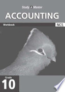 Study and Master Accounting Grade 10 Workbook