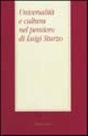 Universalità e cultura nel pensiero di Luigi Sturzo