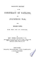 Sallust S History Of The Conspiracy Of Catiline And Jugurthine War