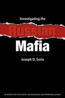 Investigating the Russian Mafia Book