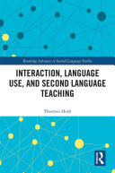Interaction  Language Use  and Second Language Teaching