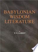 Babylonian Wisdom Literature