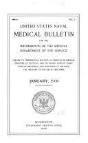 United States Naval Medical Bulletin V 2 1908