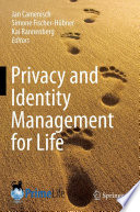 Privacy And Identity Management For Life Book PDF