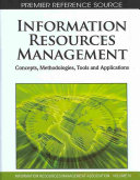 Information Resources Management Book