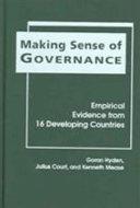 Making Sense of Governance