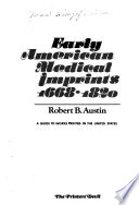 Early American Medical Imprints 1668-1820