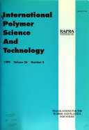 International Polymer Science And Technology Book PDF
