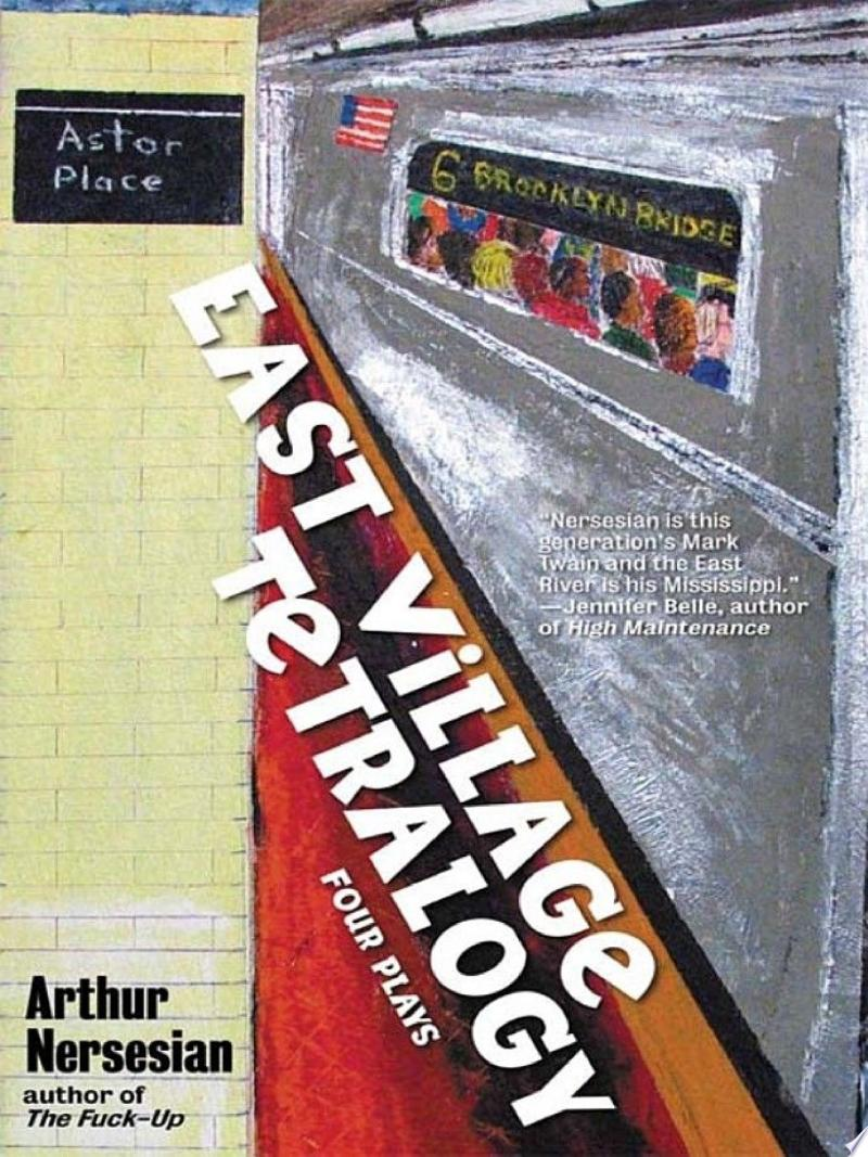 East Village Tetralogy banner backdrop