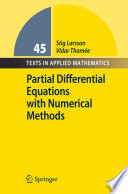 Partial Differential Equations with Numerical Methods Book