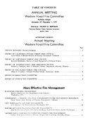 Western Forest Fire Conditions Book