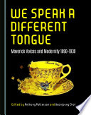 We Speak a Different Tongue