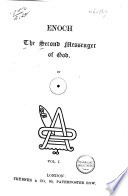 Enoch The Second Messenger Of God Book