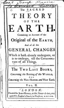 Concerning the burning of the world  and Concerning the new heavens and new earth  With a review of The theory  and of its proofs  especially in reference to scripture