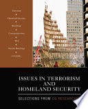 Issues In Terrorism And Homeland Security Book PDF