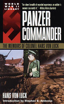 Panzer Commander [Pdf/ePub] eBook