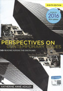 Perspectives on Contemporary Issues   Card to the MLA Handbook 8th Ed    MindTap English Handbook  1 Term   6 Months Access Card Book
