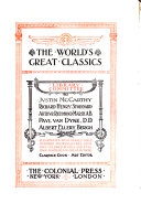 The World s Great Classics  A short history of the English people  by J R  Green  3 v   History of civilization in Europe  by F P G  Guizot