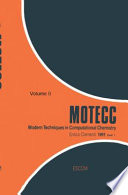 Modern Techniques In Computational Chemistry Motecc 91