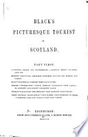 Black s Picturesque Tourist of Scotland Book PDF